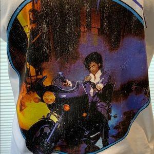 Prince Tops - Prince vintage print Purple Rain t-shirt